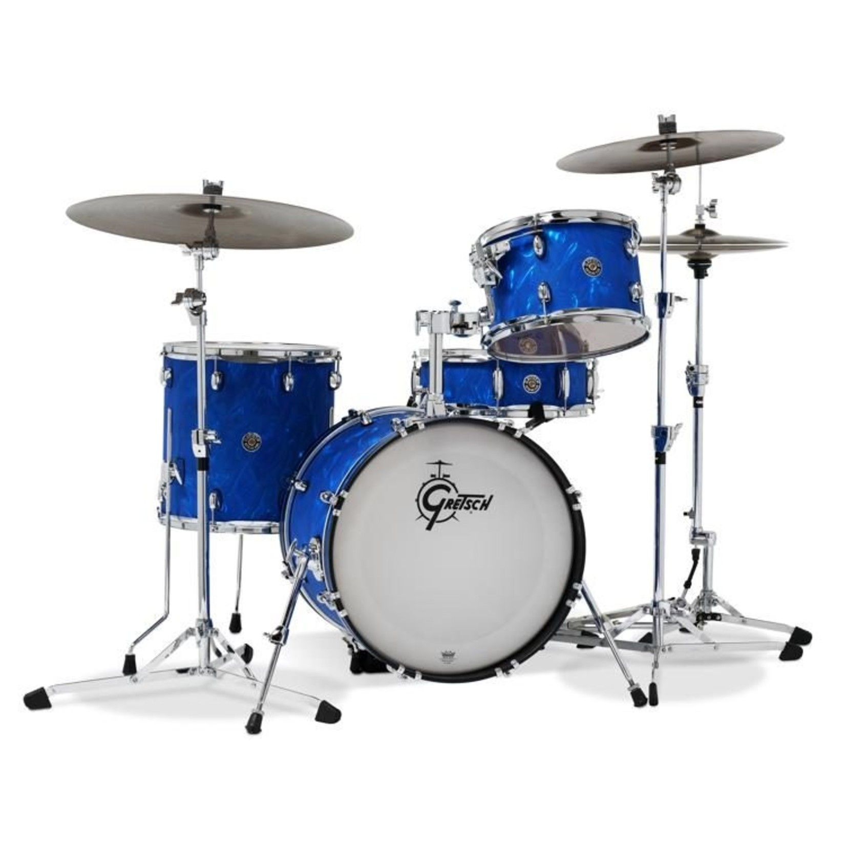 "Gretsch Gretsch Catalina Club 3pc ""Blue Satin Flame"""