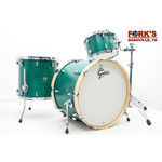 "Gretsch Gretsch Brooklyn 3pc Drum Kit ""Satin Caribbean Teal"""