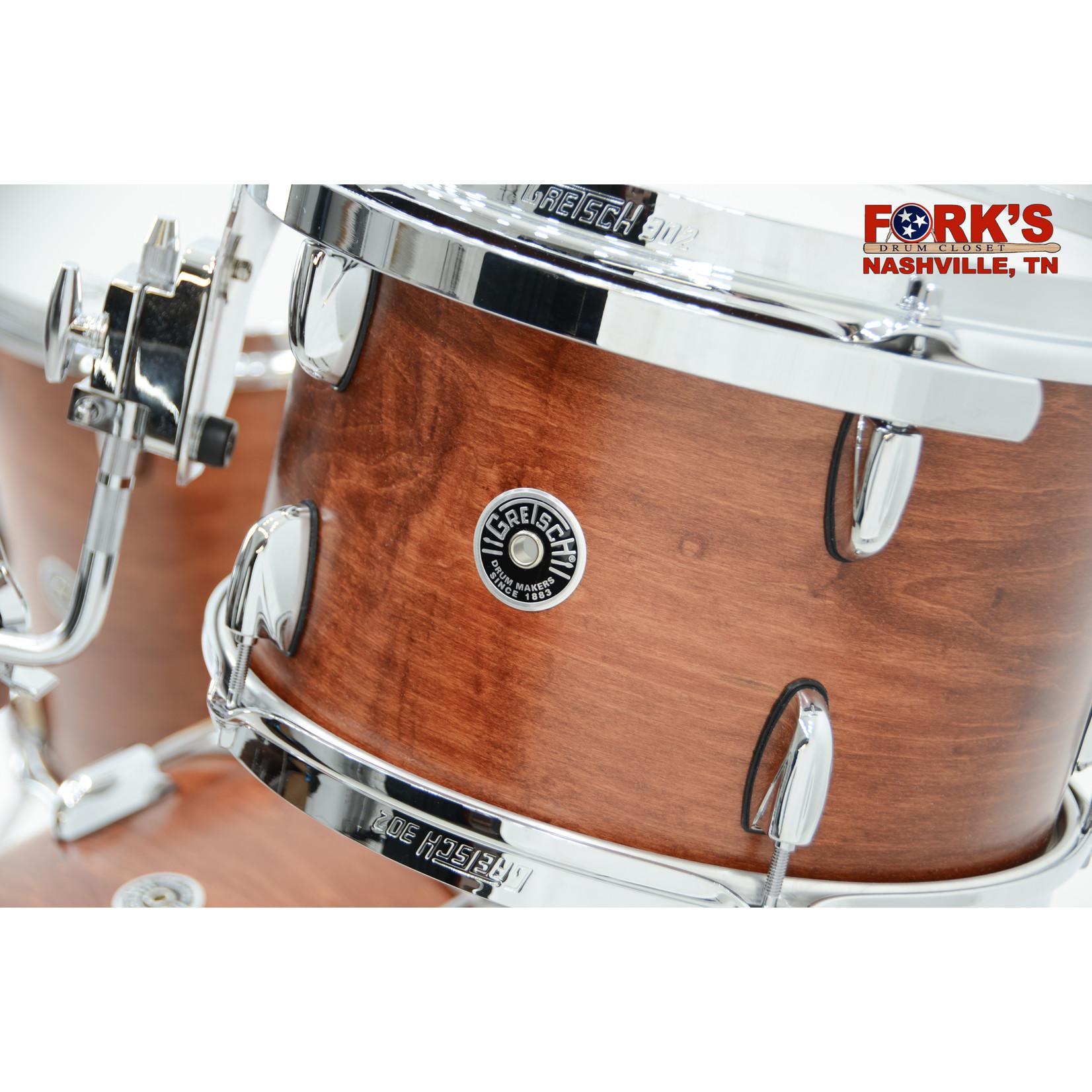 "Gretsch Gretsch Brooklyn 3pc Drum Kit ""Satin Mahogany"