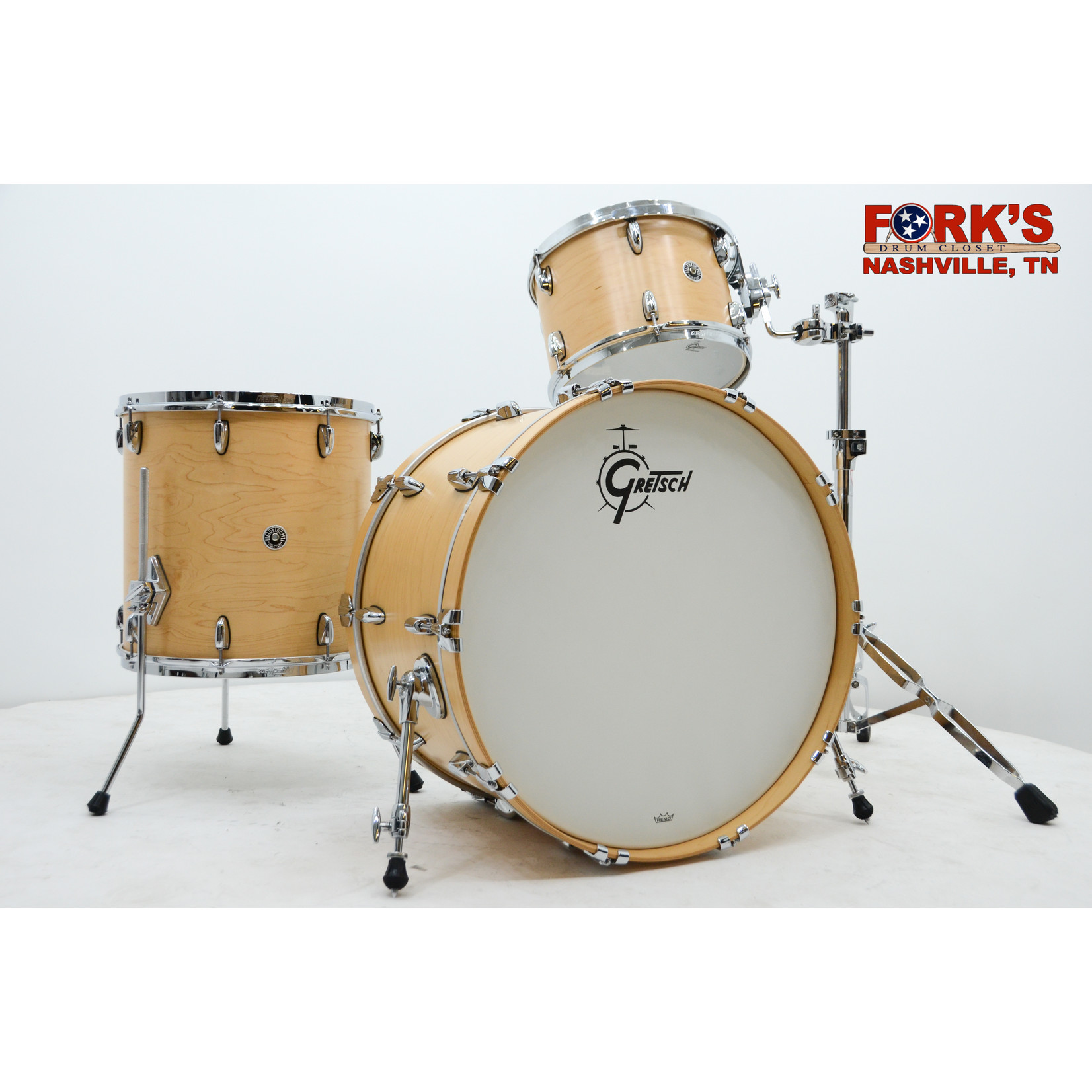 "Gretsch Gretsch Brooklyn 3pc Drum Kit ""Satin Natural"""