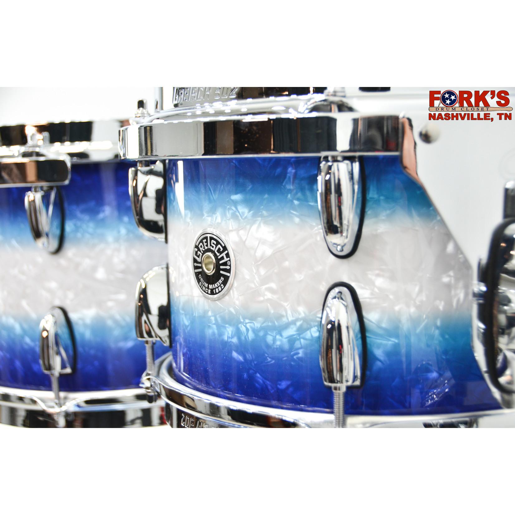 "Gretsch Gretsch Brooklyn 4pc Drum Kit ""Blue Burst Pearl"""