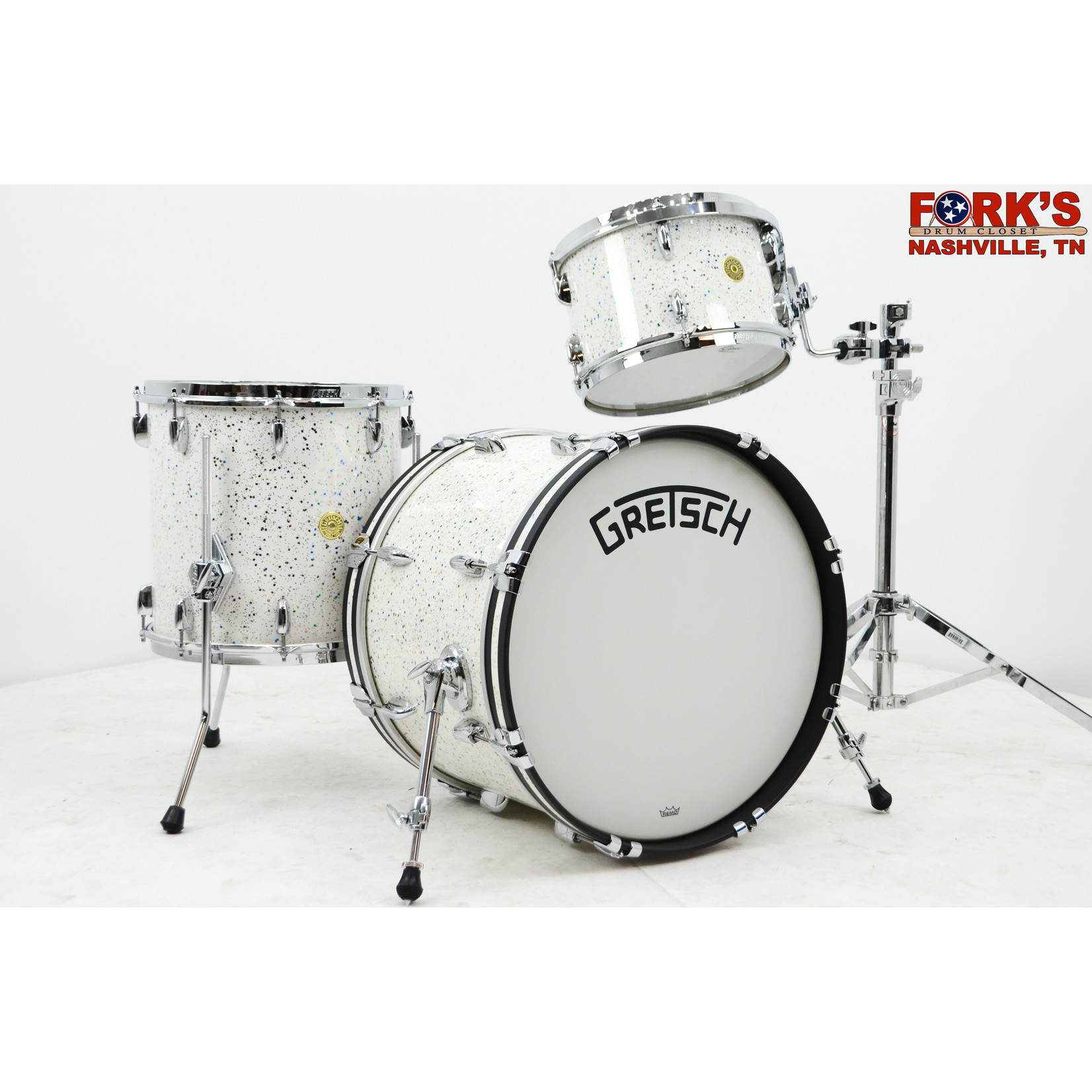 "Gretsch Gretsch Broadkaster 3pc Drum Set ""Fiesta Pearl"""