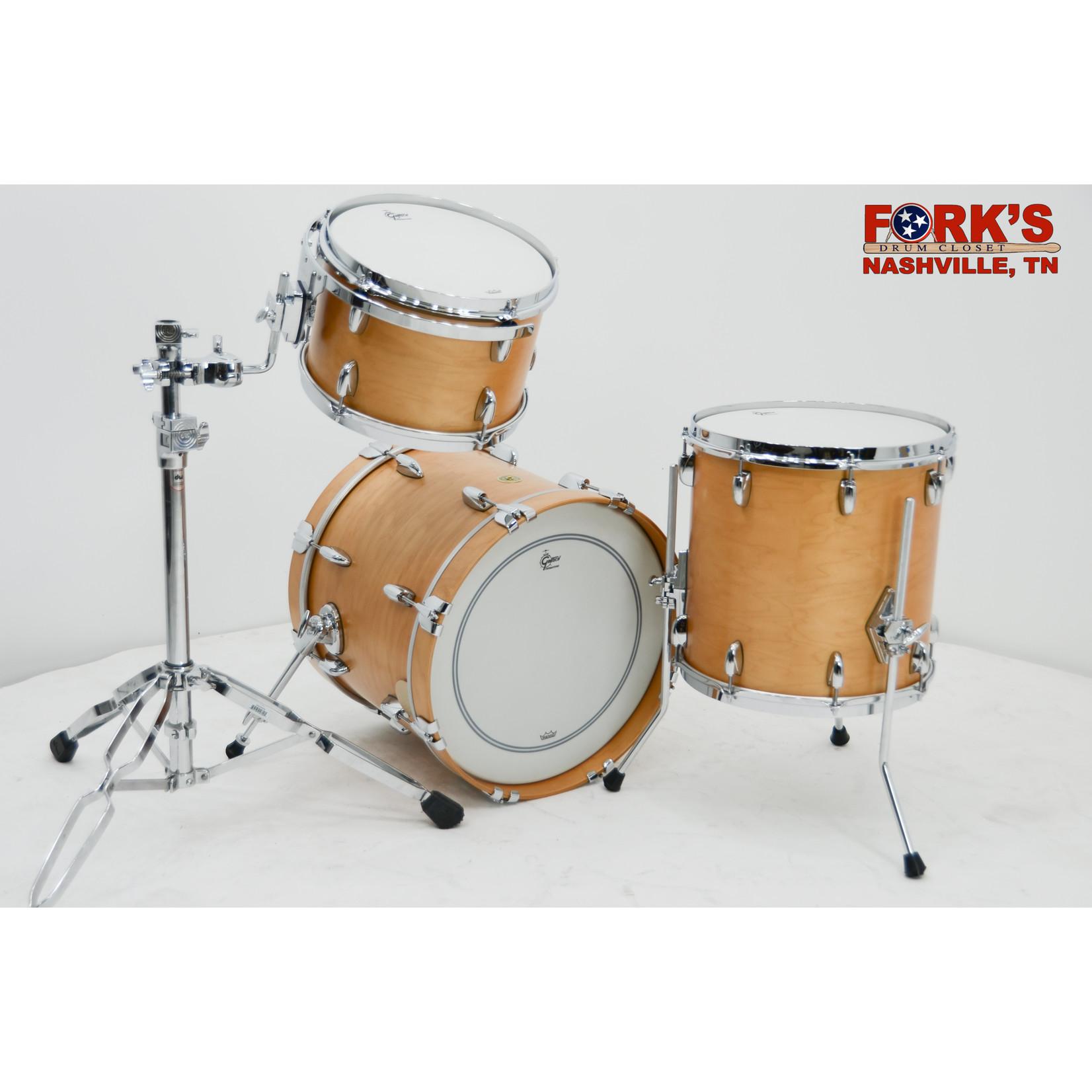 "Gretsch Gretsch Broadkaster 3pc Drum Set ""Satin Natural"""