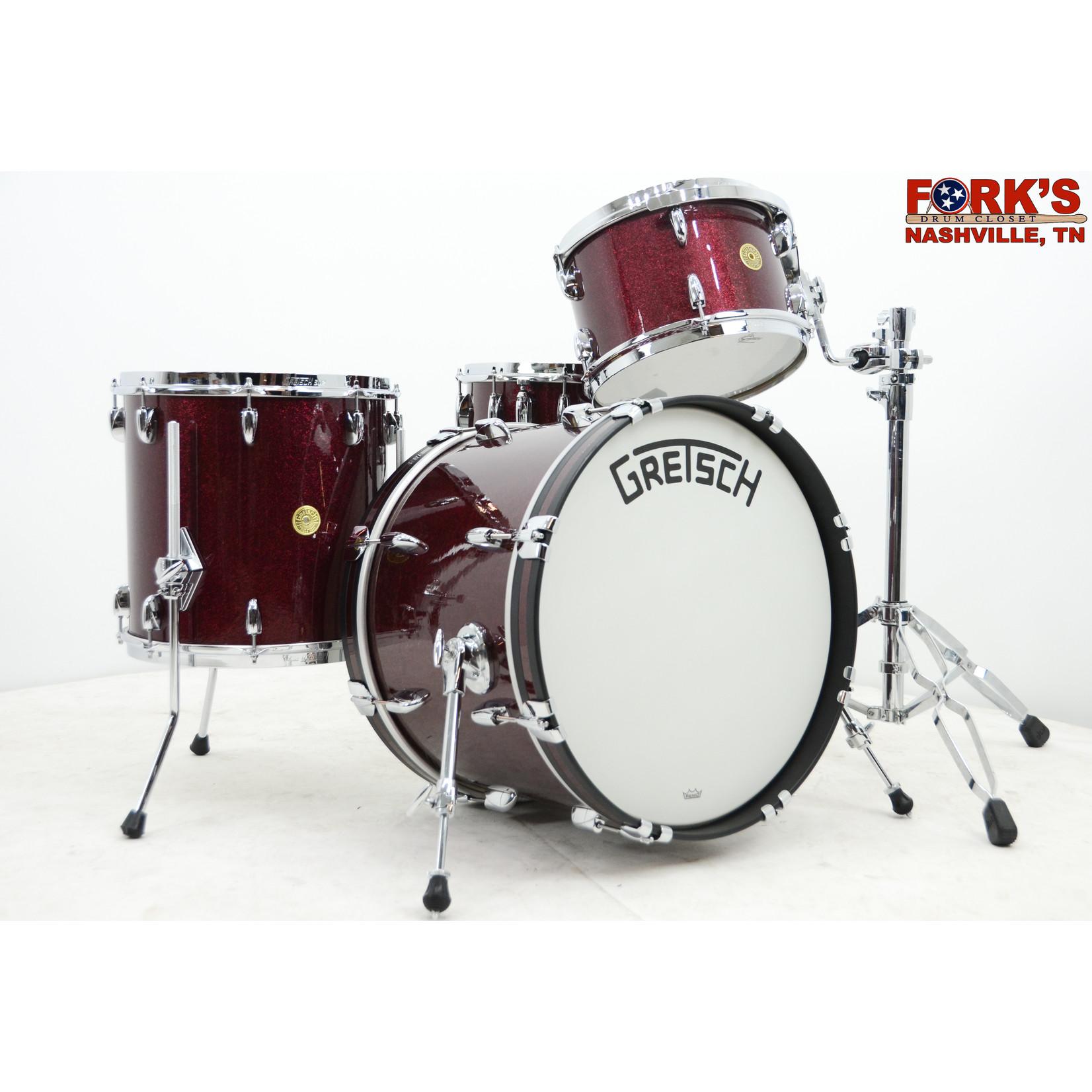 """Gretsch Gretsch Broadkaster 4pc Drum Set """"Merlot Sparkle"""""""