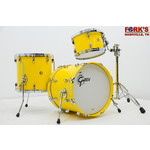 "Gretsch Gretsch USA 3pc Drum Set ""Solid Yellow Gloss"""