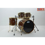 "DW DW Collectors Exotic 5pc Drum Kit ""Natural Gloss over Bubinga Pomelle"""