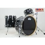 "DW DW Collectors Maple 3pc Drum Set ""Black Velvet"""