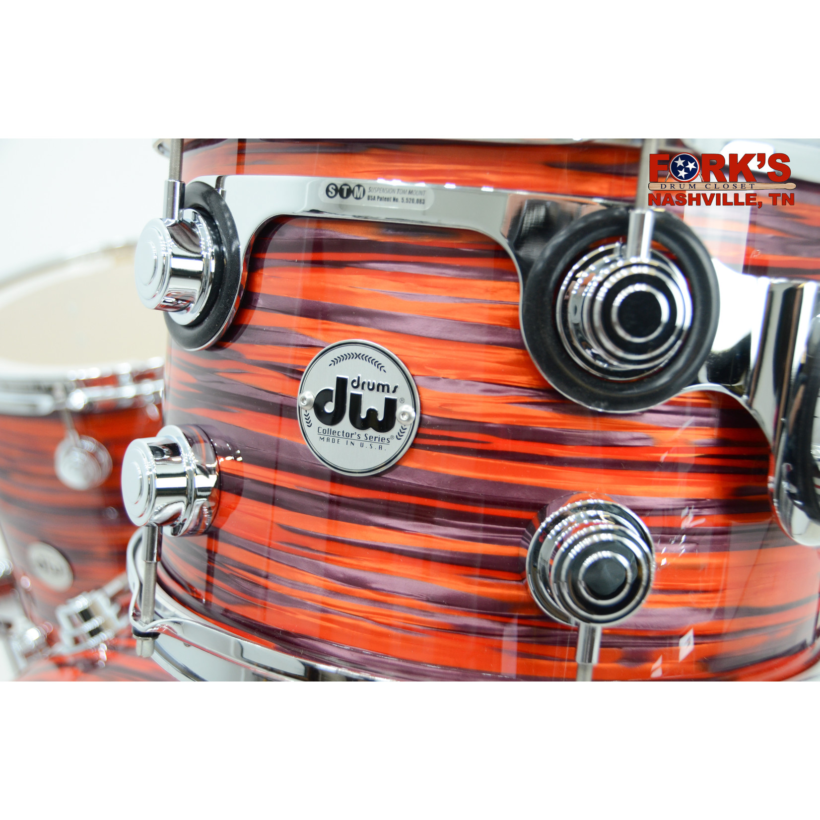 "DW DW Collectors Maple 3pc Drum Set ""Tiger Oyster"""
