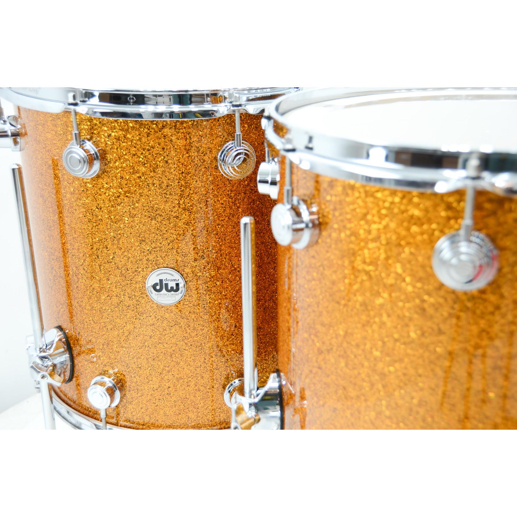 """DW DW Collectors Series 5pc Pure Maple Drum set """"Burnt Orange Glass"""""""