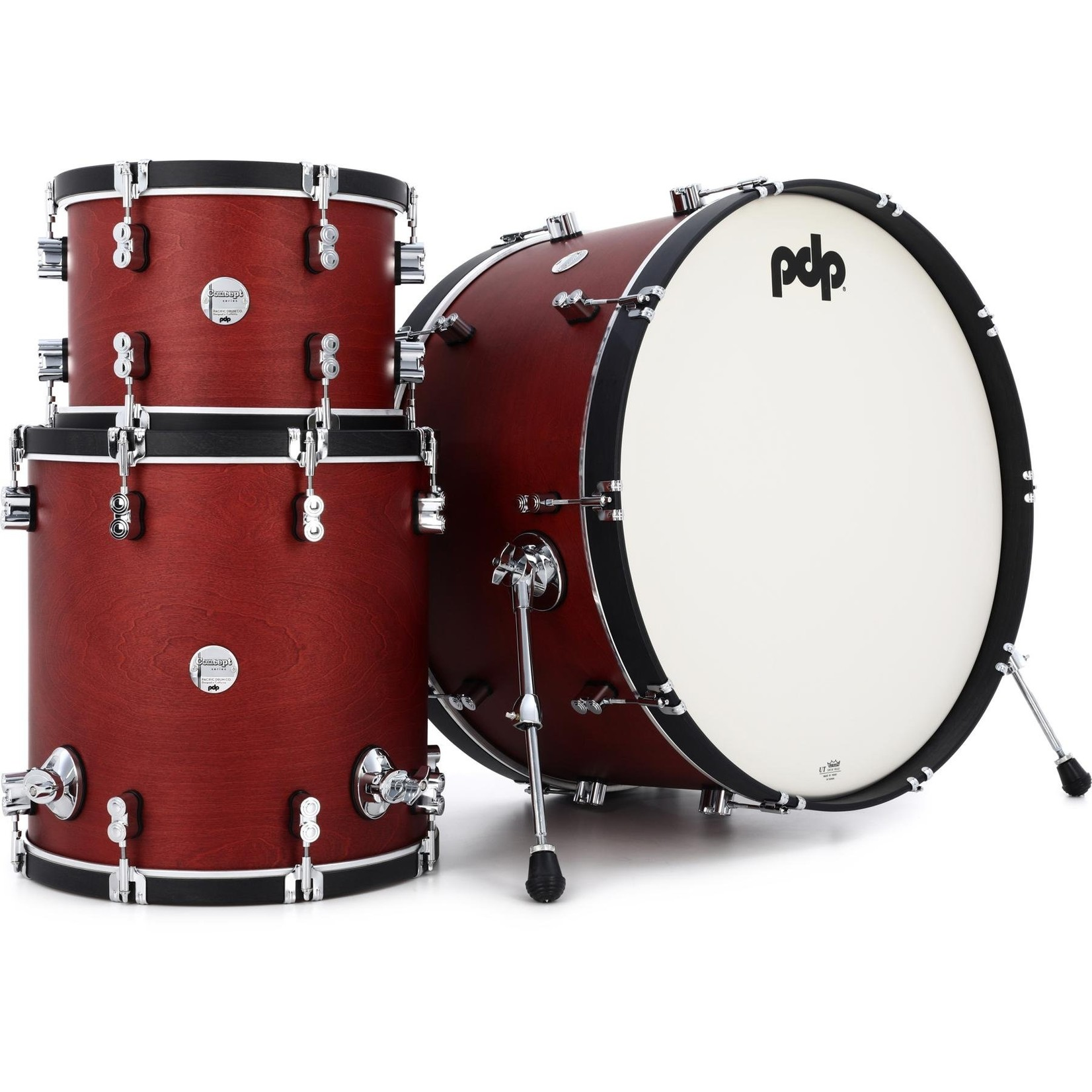 "PDP PDP Concept Maple 3pc ""Oxblood Stain"""