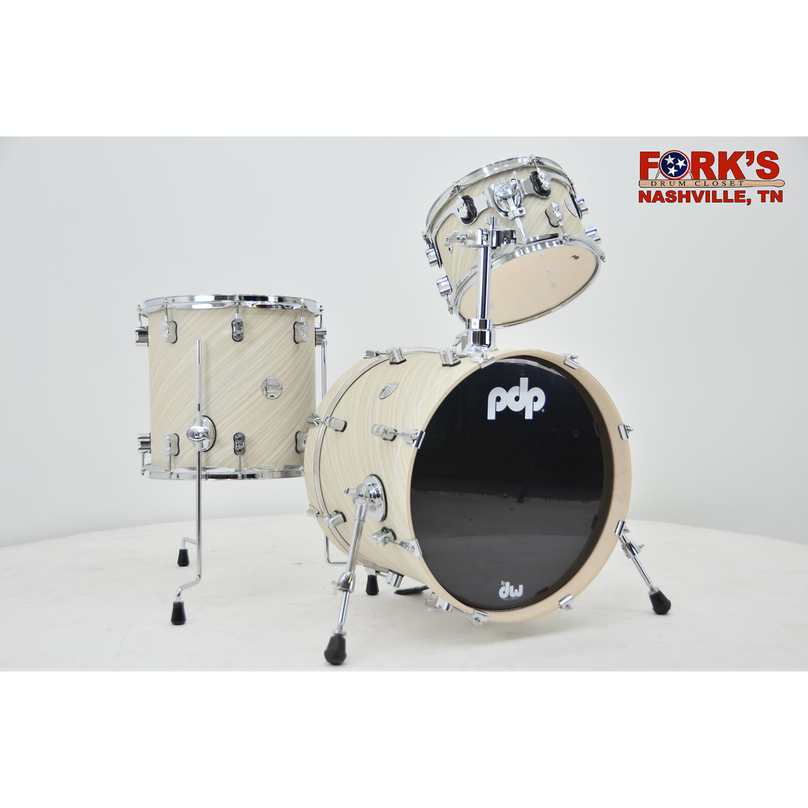 """PDP PDP Concept Maple 3pc """"Twisted Ivory"""""""