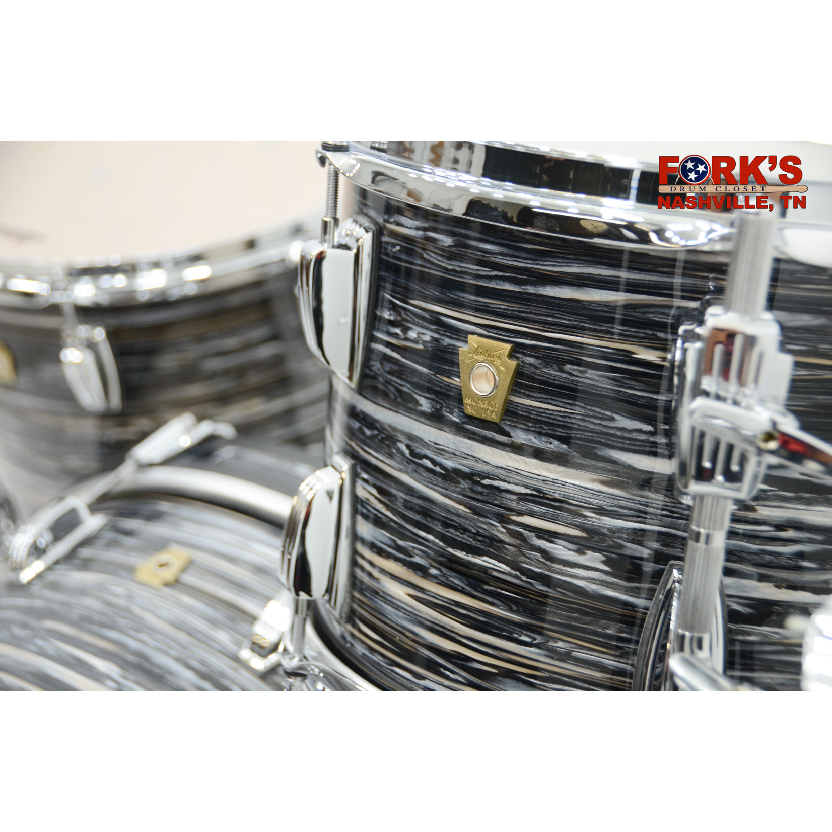"""Ludwig Ludwig Classic Maple 3pc Drum Kit """"Vintage Black Oyster"""""""