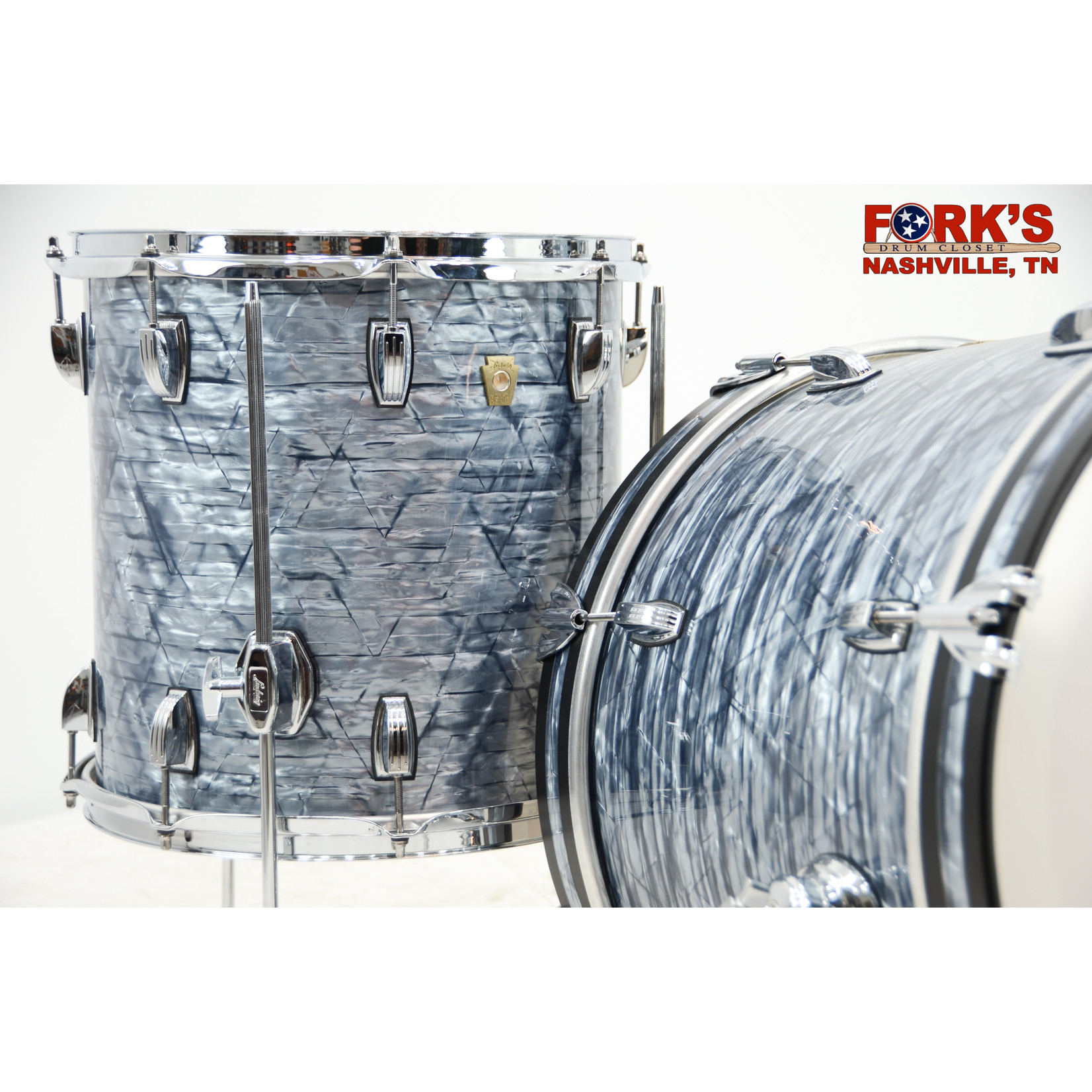 """Ludwig Ludwig Classic Maple 3pc Drum Kit """"Sky Blue Pearl"""""""