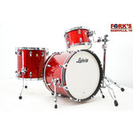 "Ludwig Ludwig Classic Maple 3pc Drum Kit ""Red Glass"""