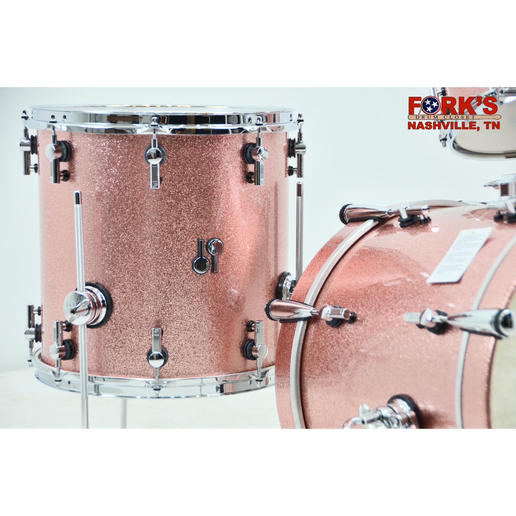 """Sonor Sonor SQ2 3pc Drum Kit """"Bright Copper Sparkle"""