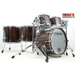 "Sonor Sonor SQ2 6pc Drum Kit ""Ebony Veneer"""
