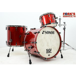 """Sonor Sonor SQ2 3pc Drum Kit """"Red Sparkle"""""""