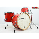 """Sonor Sonor SQ1 3pc Drum Kit """"Hot Rod Red"""""""