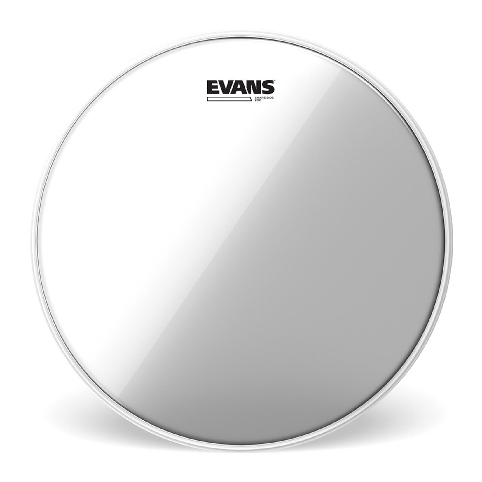 Evans Evans Hazy 200 Snare Side