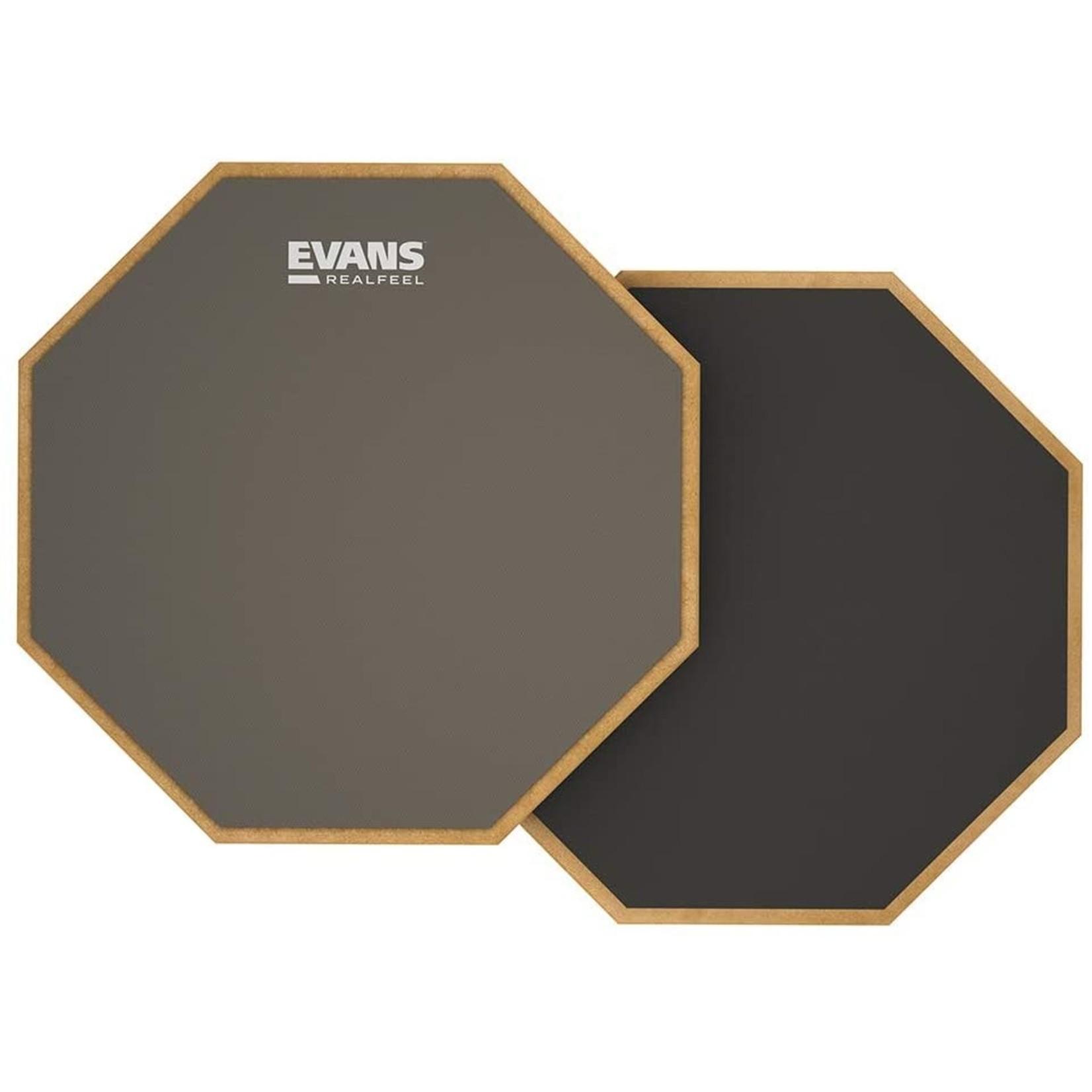 """Evans RealFeel 12"""" 2-Sided Standard Pad"""