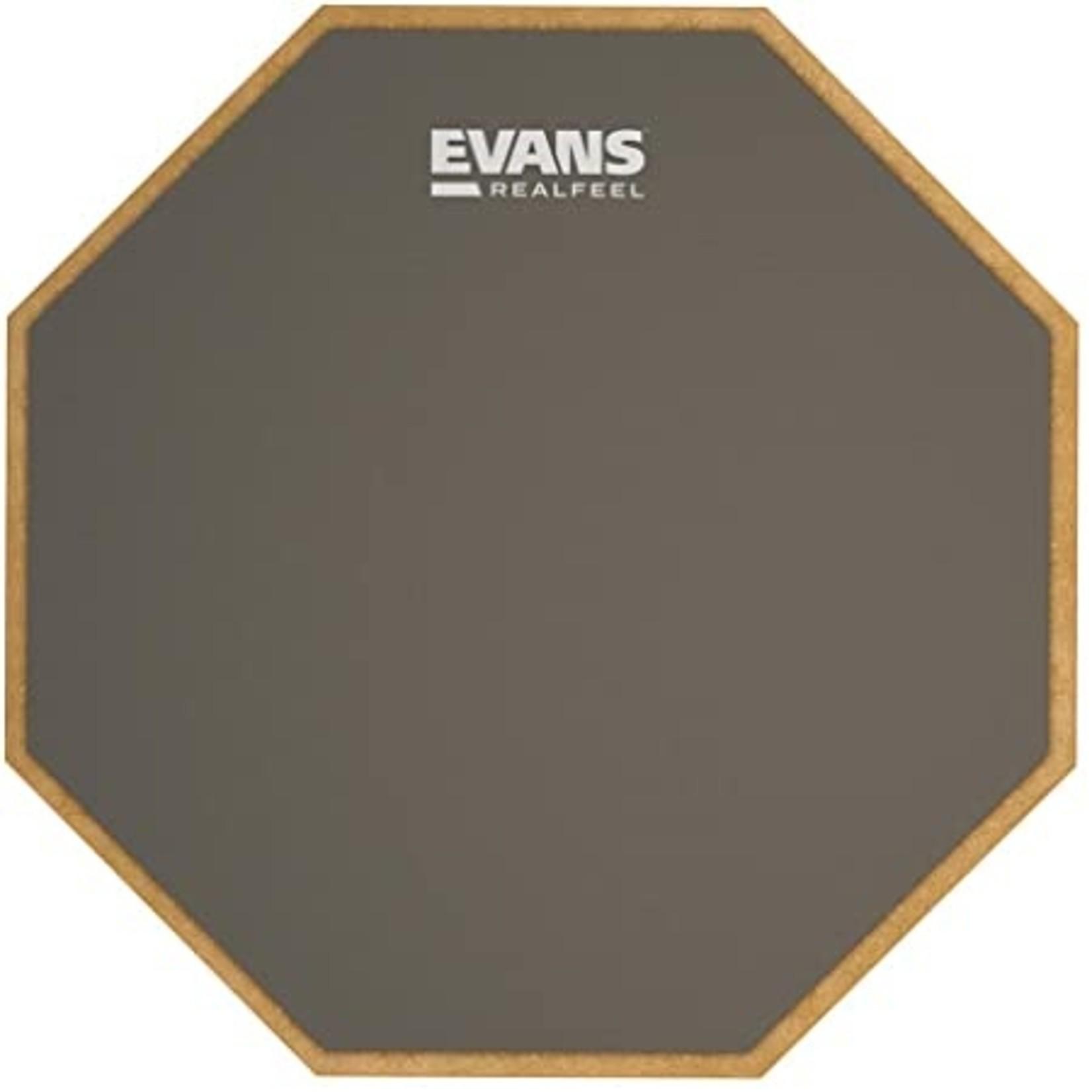 """Evans RealFeel 12"""" 1-Sided Standard Pad"""