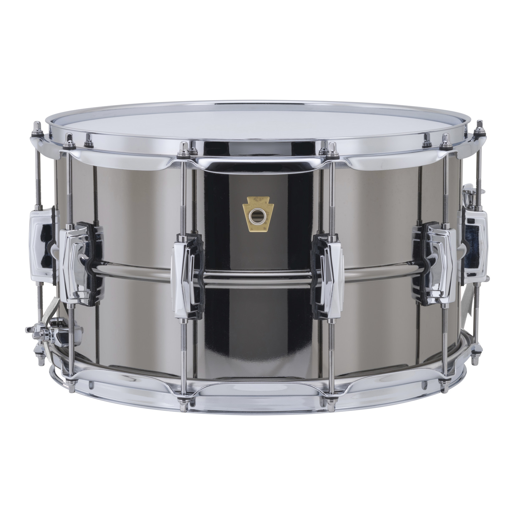 """Ludwig Ludwig 8X14 Supraphonic """"Black Beauty"""" Snare Drum / Imperial Lugs / Smooth Shell"""