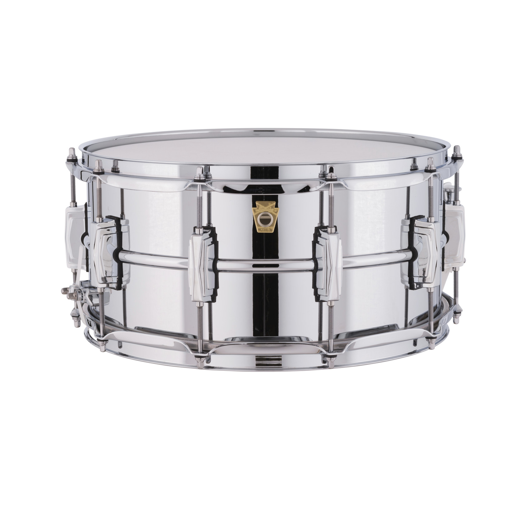 Ludwig Ludwig 6.5X 14 Supraphonic Chrome over Brass Snare Drum / Imperial Lugs / Chrome Hardware