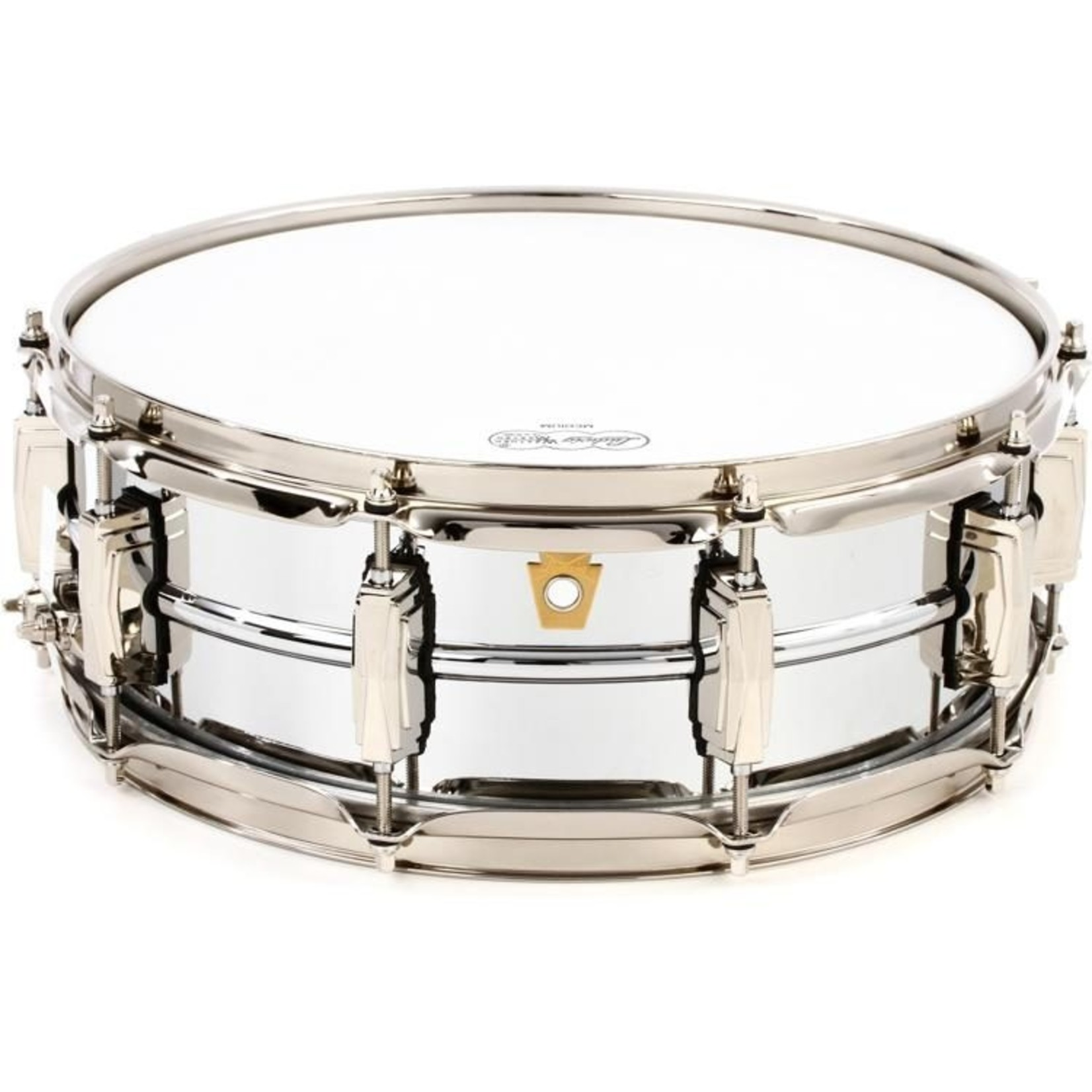 Ludwig Ludwig 5X14 Supraphonic Chrome over Brass Snare Drum / Imperial Lugs / Nickel Hardware