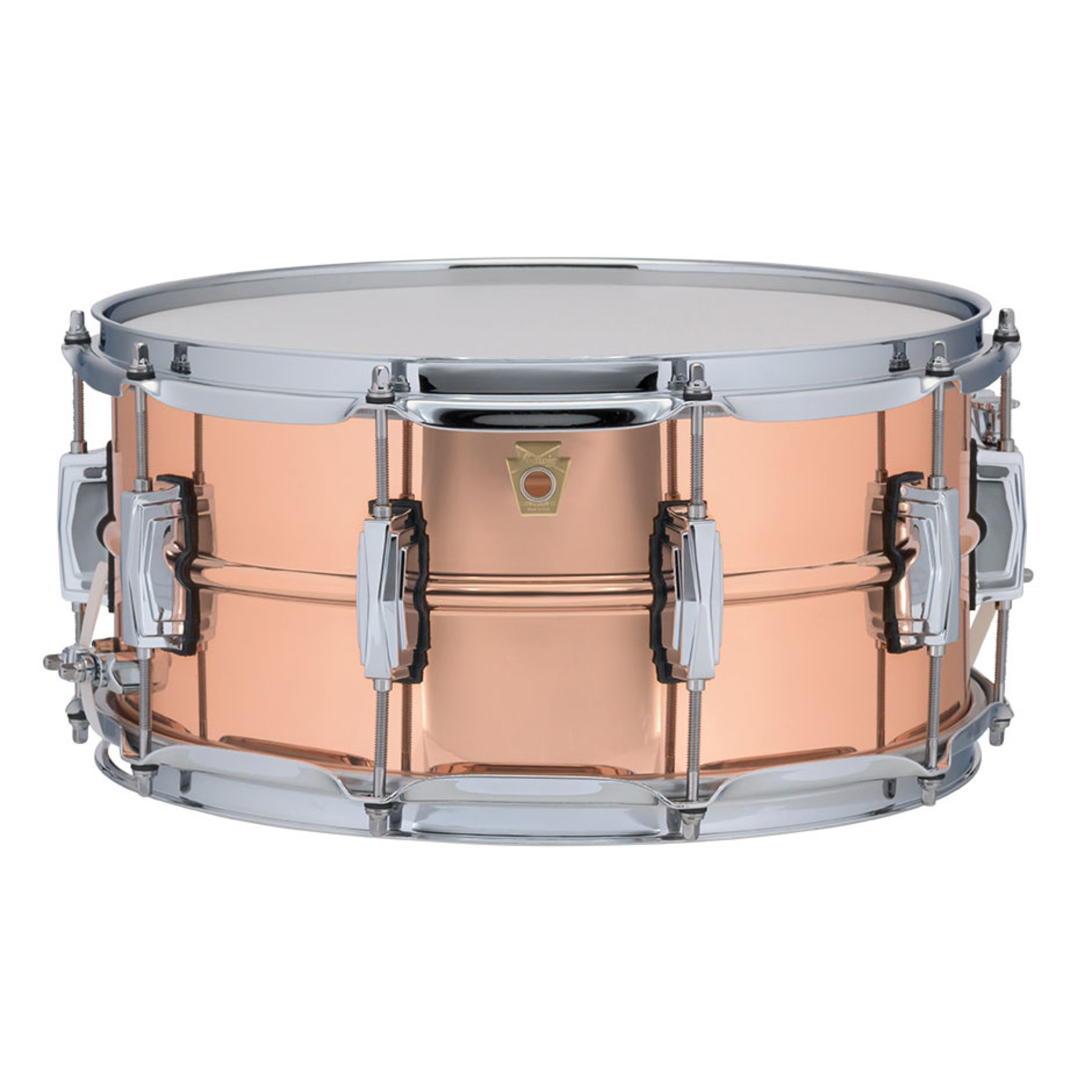 Ludwig Ludwig 6.5X14 Copper Phonic Snare Drum / Imperial Lugs / Smooth Shell