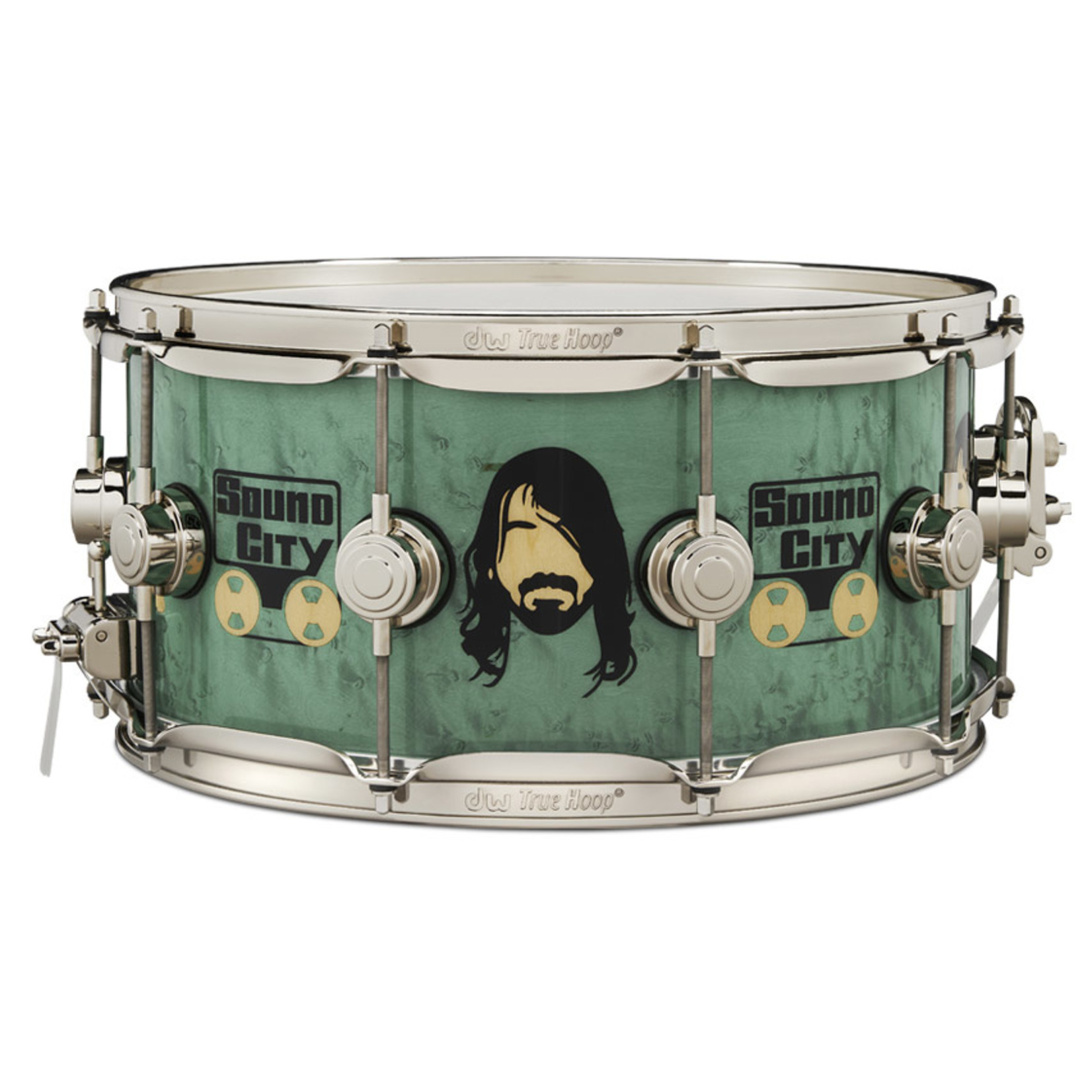 """DW DW 6.5x14 Icon """"Dave grohl"""" Snare Drum"""