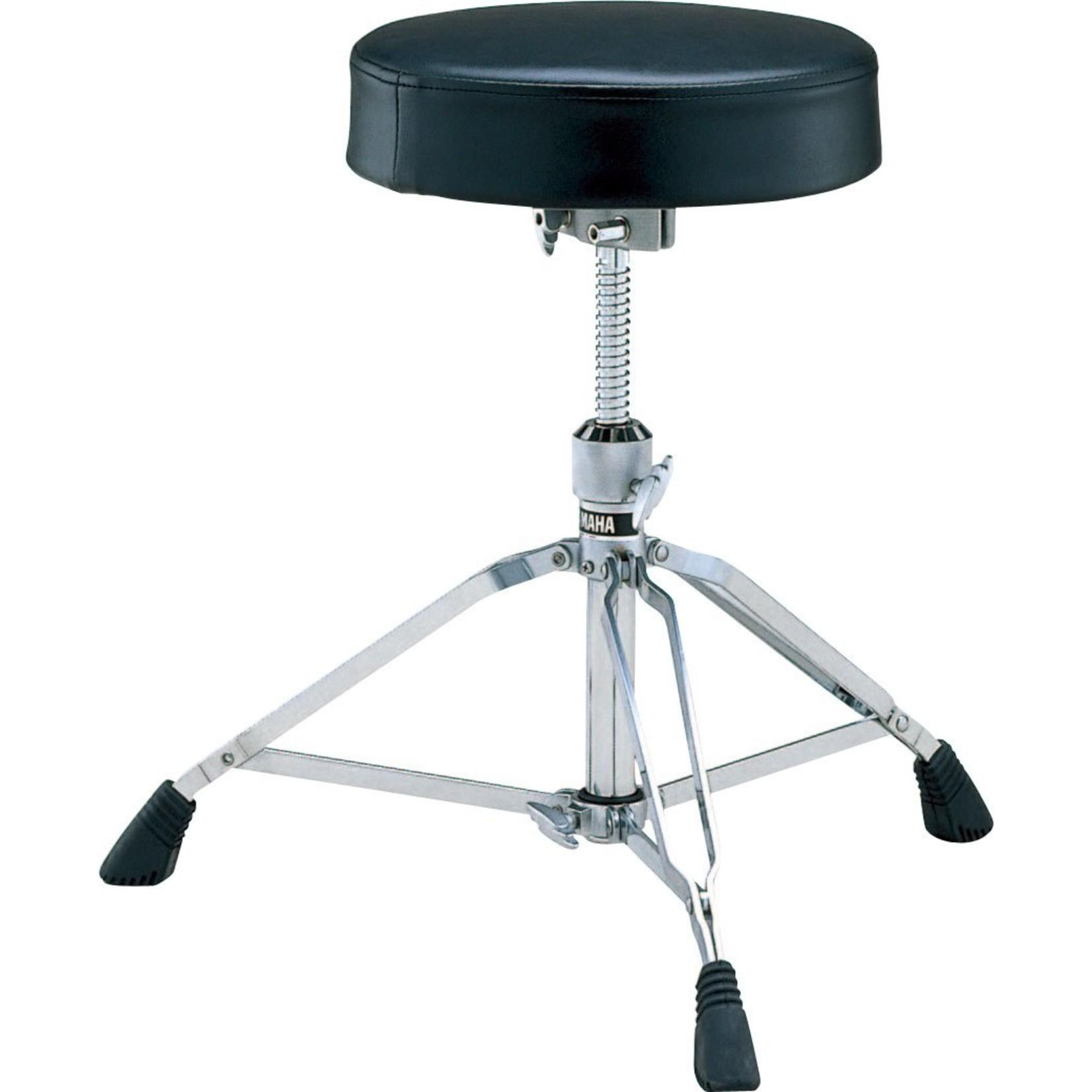 Yamaha Yamaha Drum Stool - Heavy Weight - Double Braced - Screw Height Adjustment - Round Seat