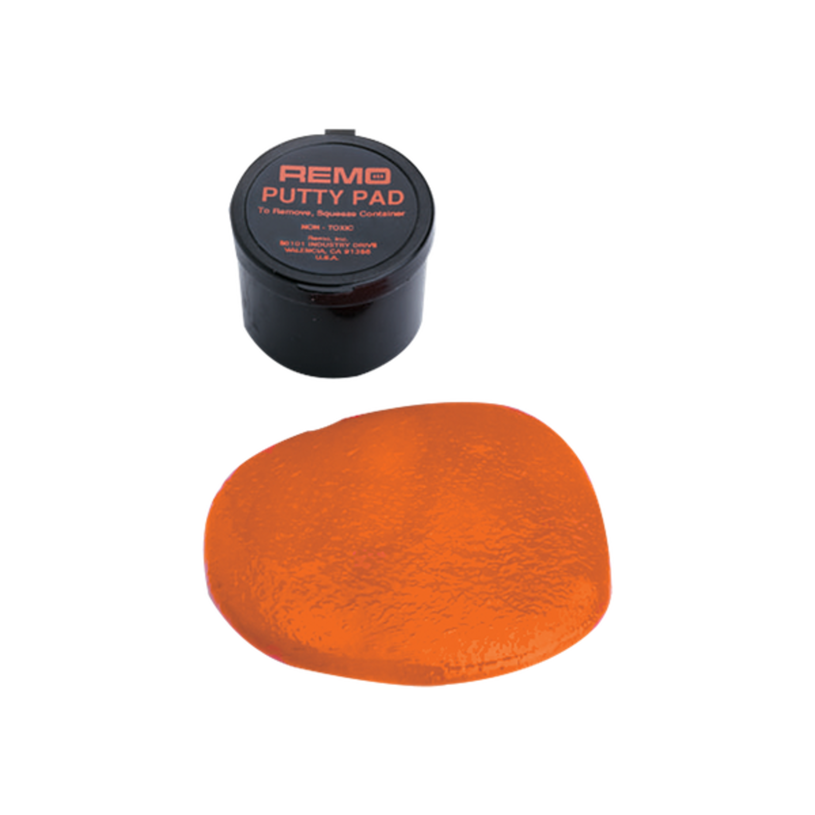 Remo PUTTY PAD Orange Boxed