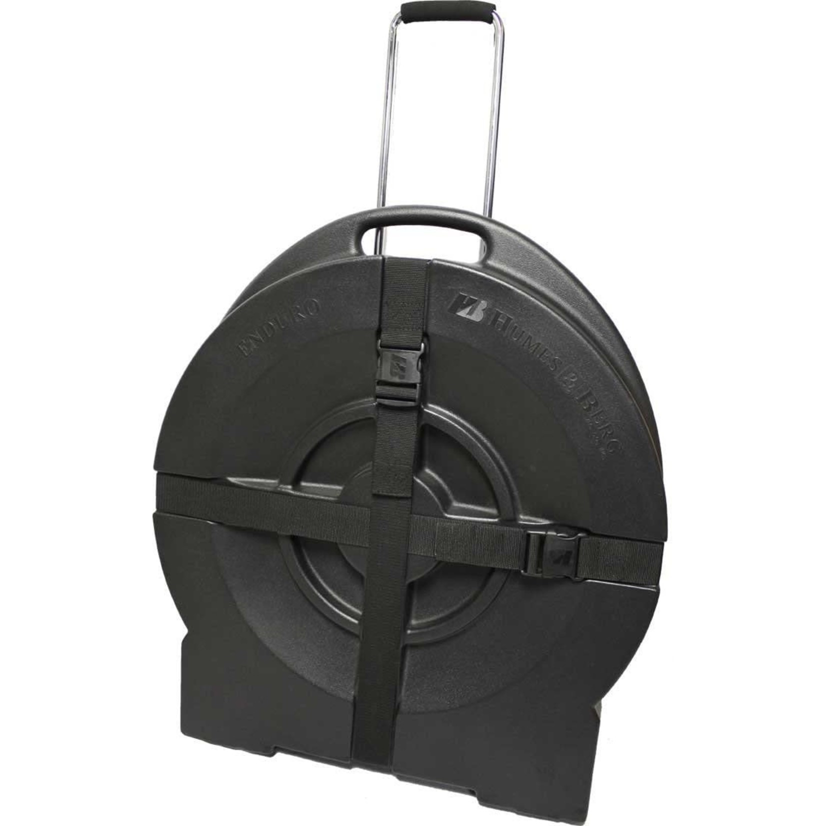 """Humes and Berg Humes and Berg Enduro 24"""" Form Fitted Black Cymbal Case w/Tilt-and-Pull"""