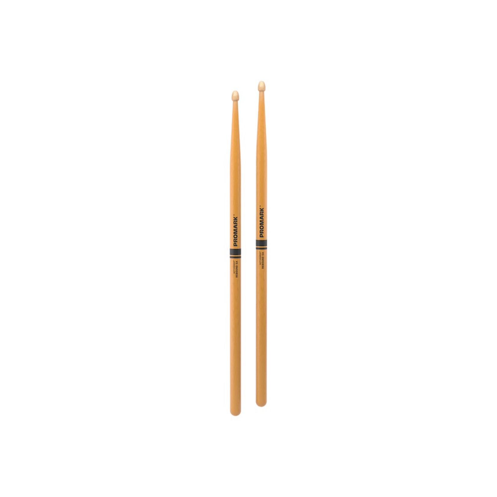 Promark ProMark Rebound 5A ActiveGrip Clear Acorn Tip Drumstick