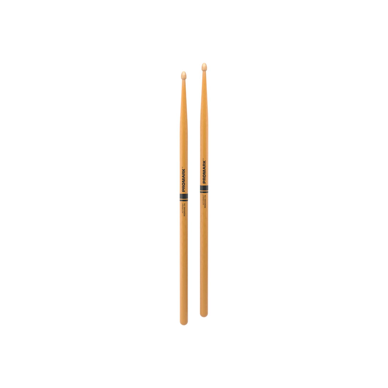 Promark ProMark Rebound 7A ActiveGrip Clear Acorn Tip Drumstick