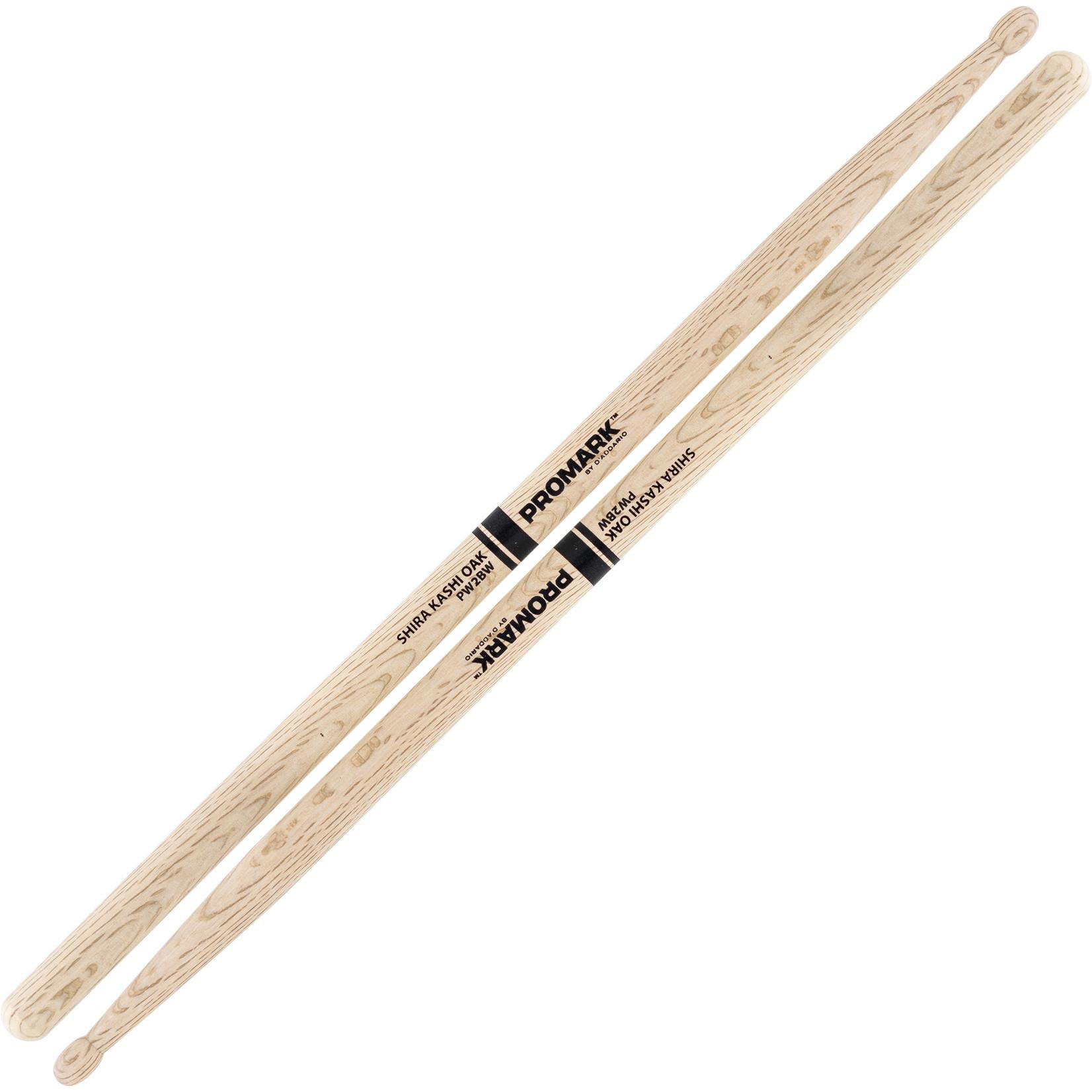Promark ProMark Classic Shira Kashi Oak Attack 2B Wood Tip Drumstick
