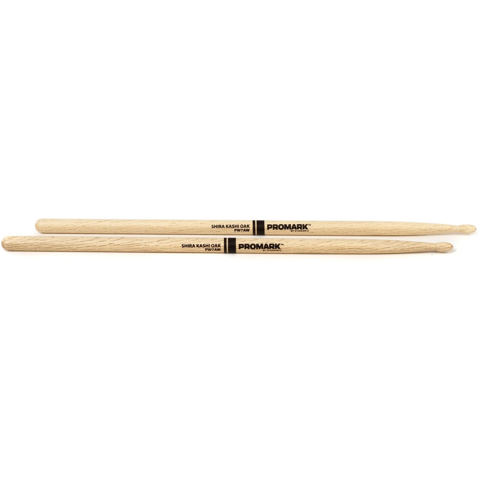 Promark ProMark Classic Shira Kashi Oak Attack 7A Wood Tip Drumstick