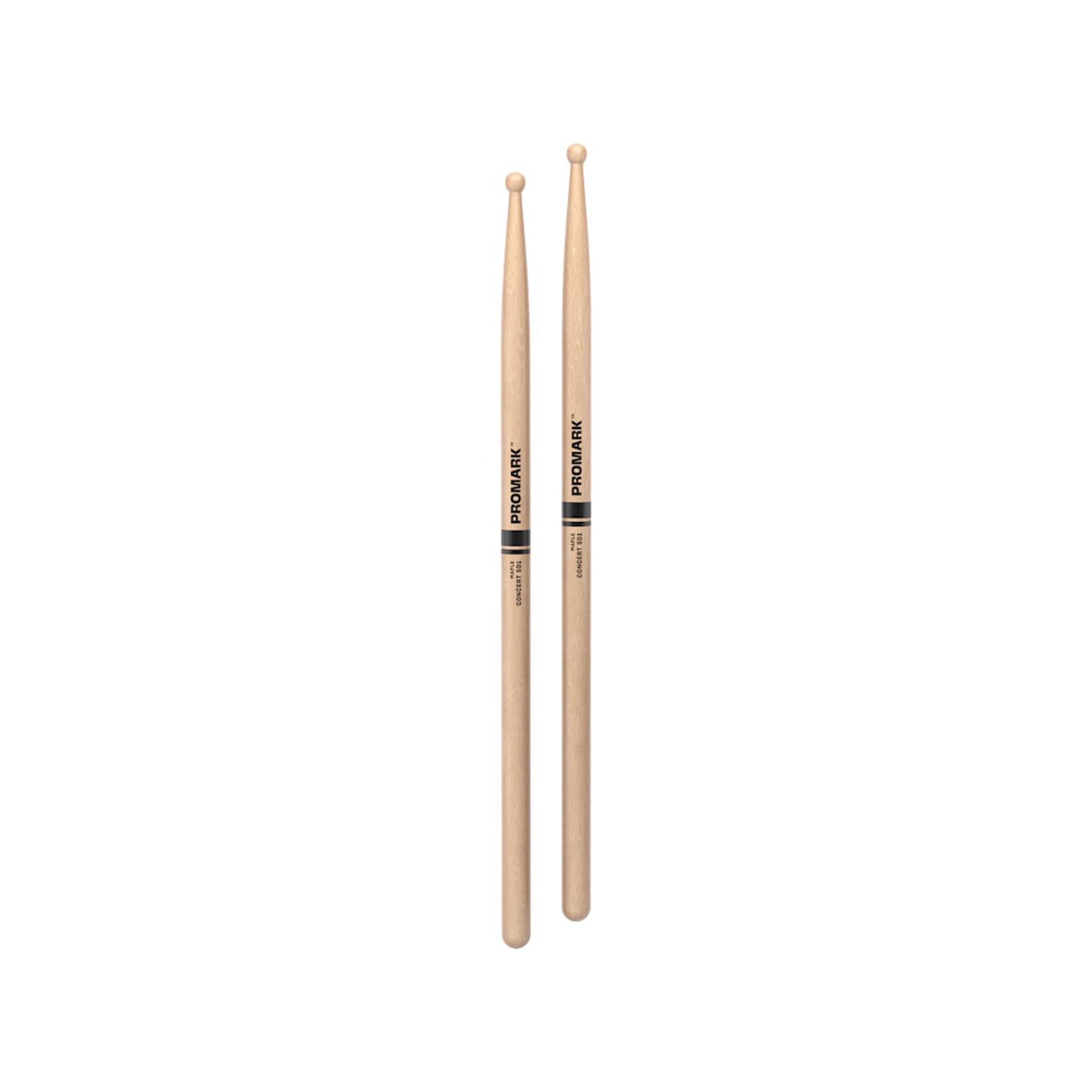 Promark ProMark Concert SD1 Maple, Wood Tip Drumstick