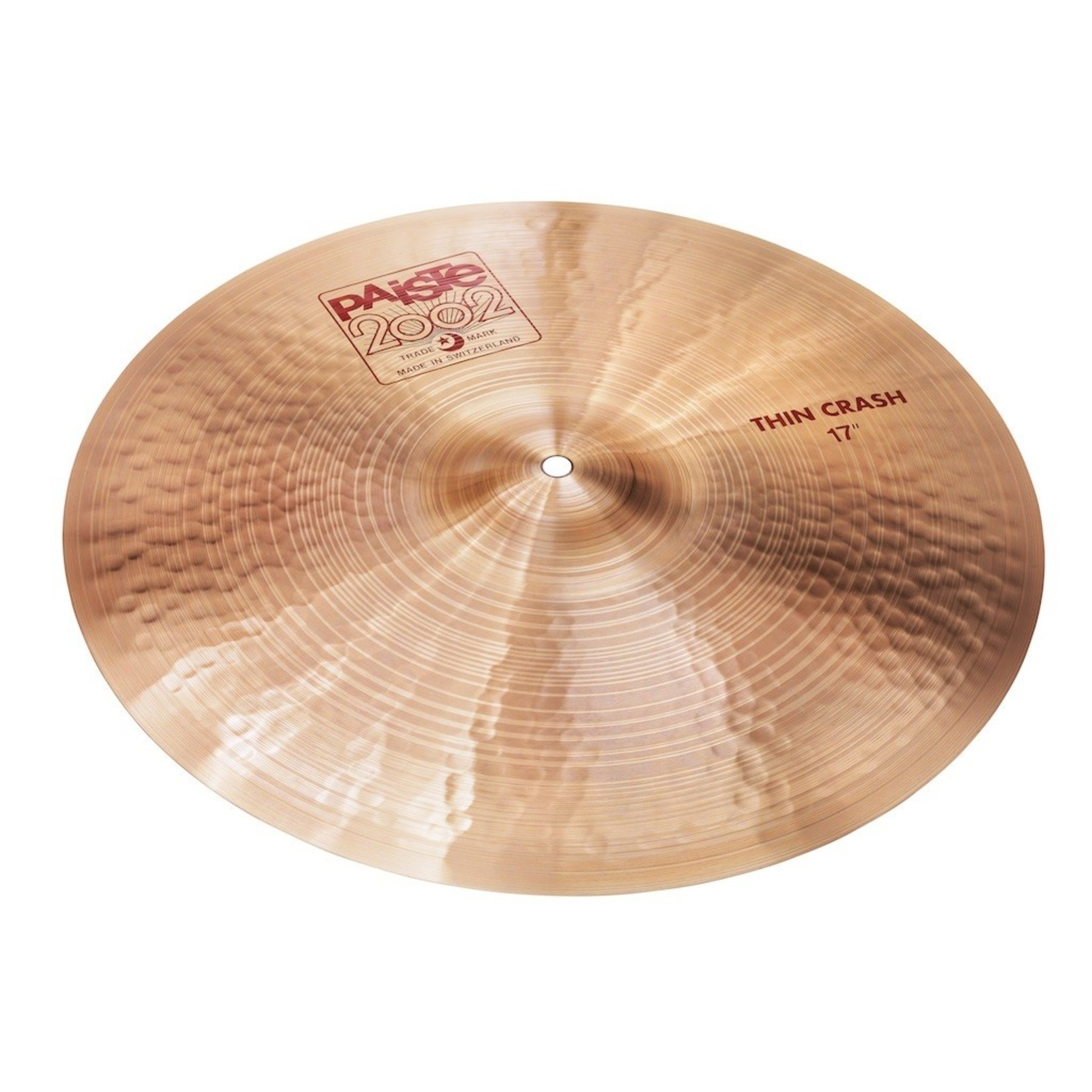 "Paiste PAISTE 17"" 2002 THIN CRASH"