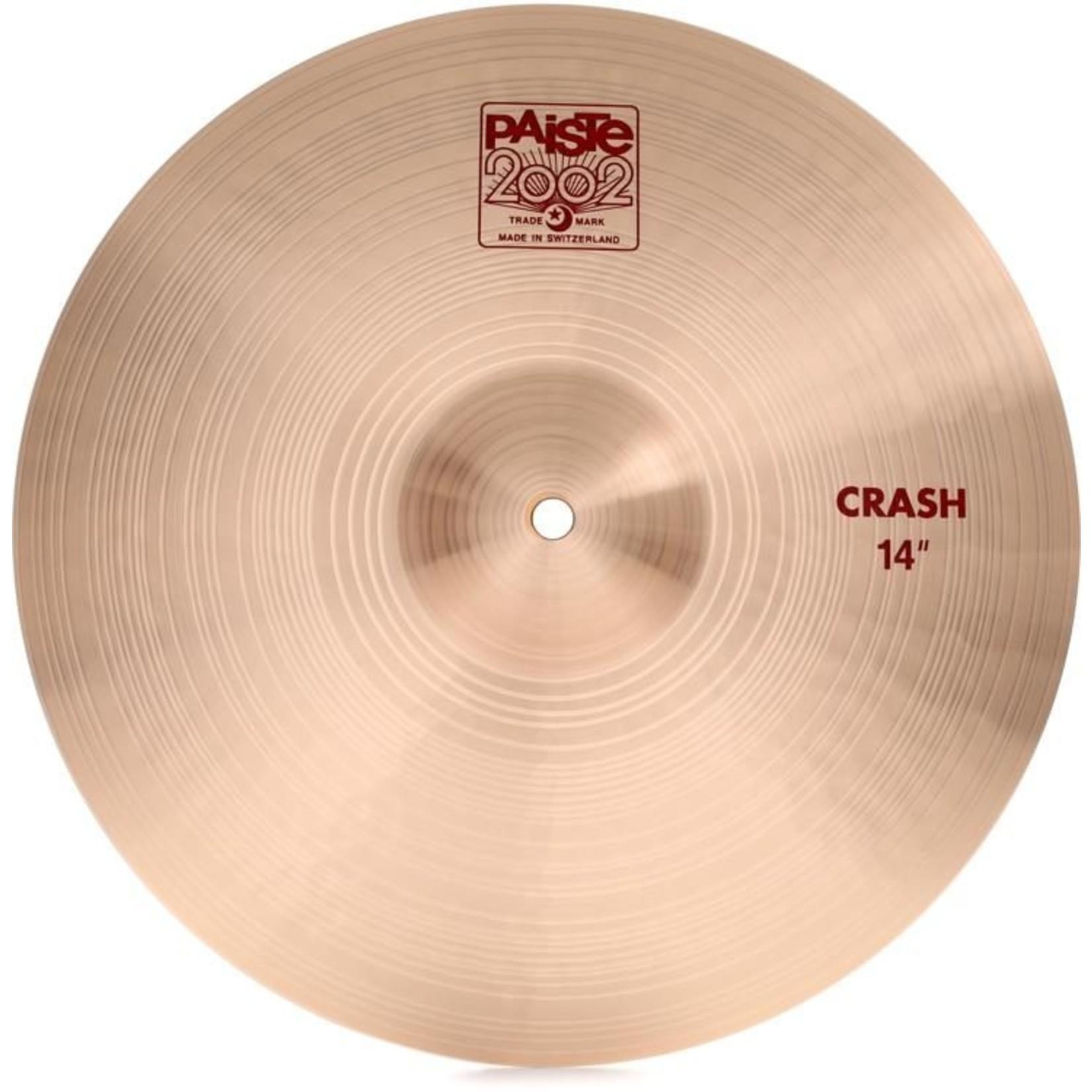 "Paiste PAISTE 14"" 2002 CRASH"
