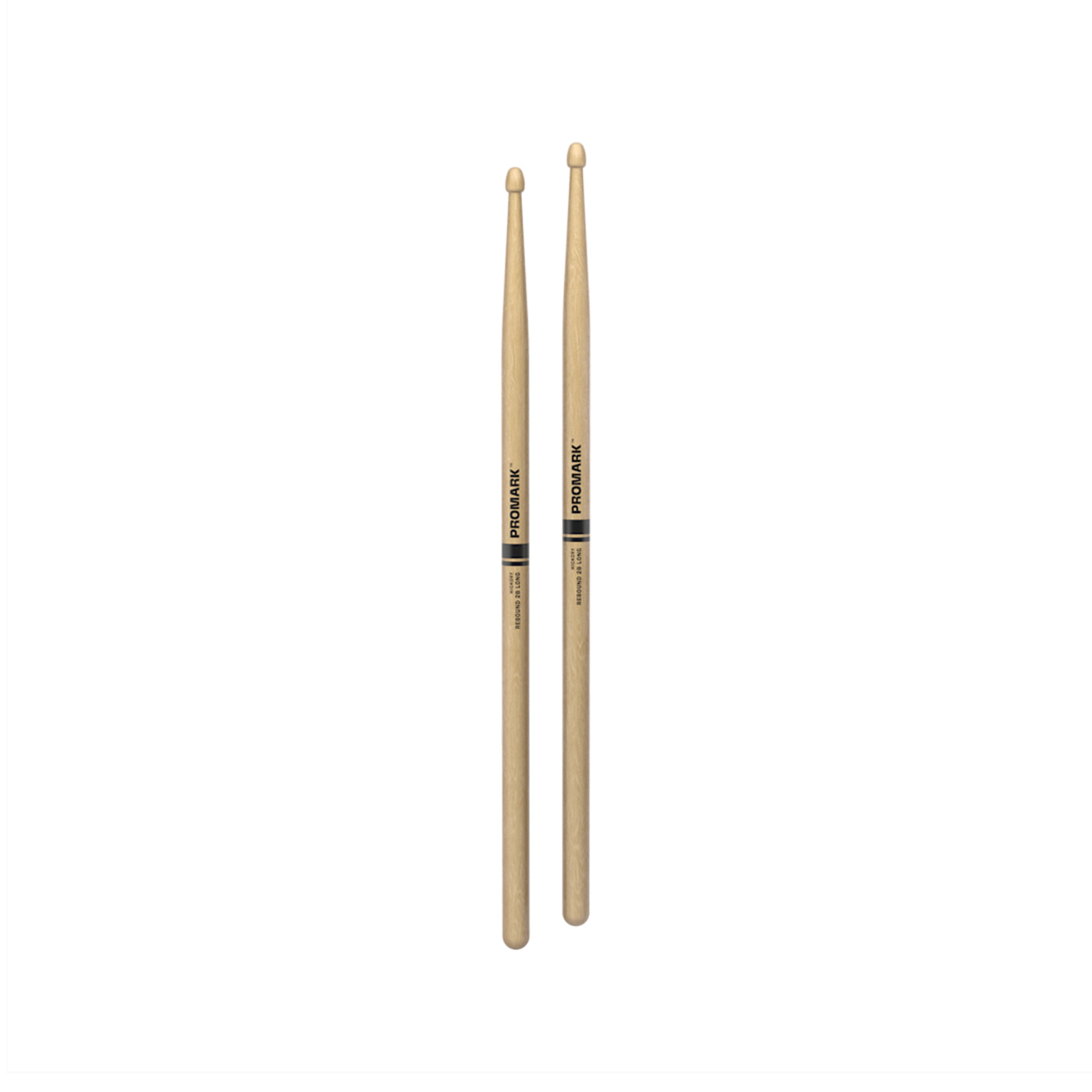 Promark ProMark Rebound 2B Long Hickory Wood Tip Drumstick