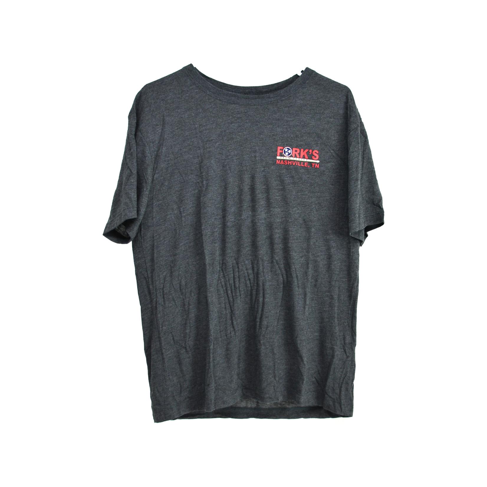 Fork's Fork's T-Shirt - Grey