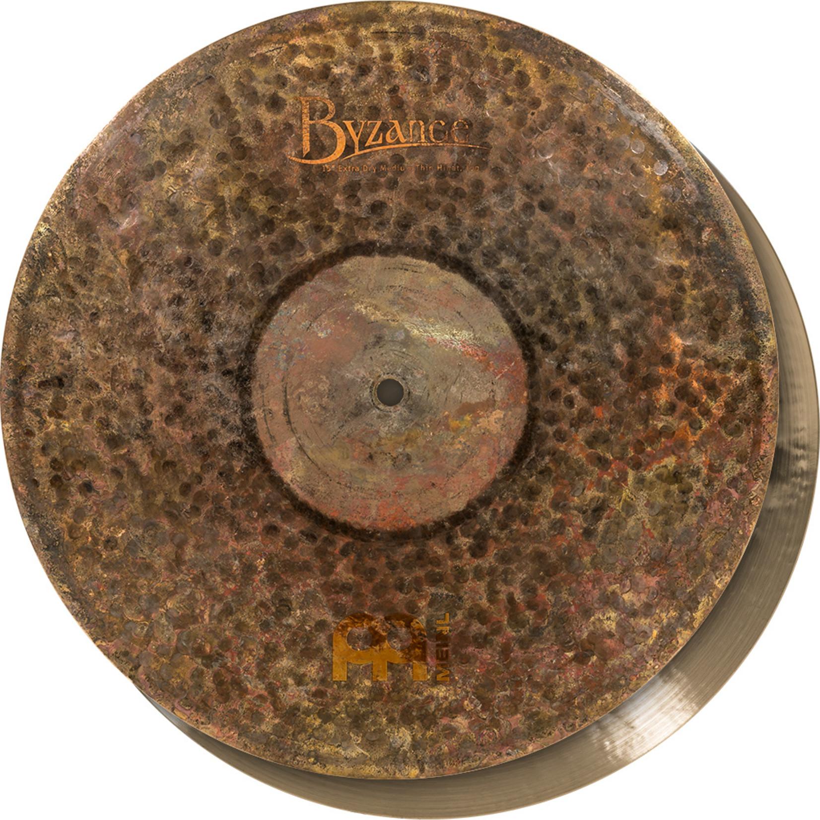 Meinl Meinl Byzance 15'' Extra Dry Medium Thin Hihat, pair
