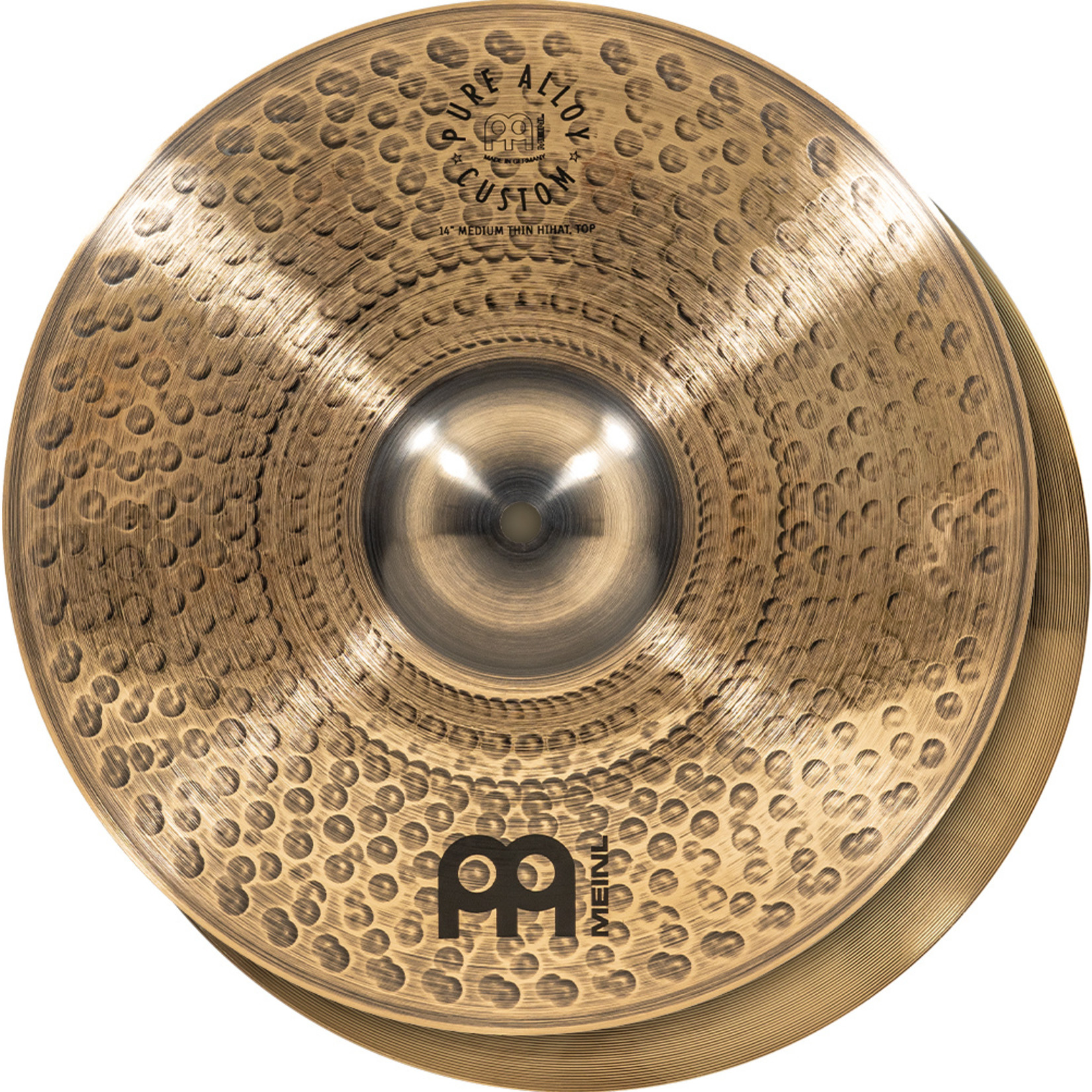 Meinl Meinl 14''  Pure Alloy Custom Medium Thin Hihat, pair