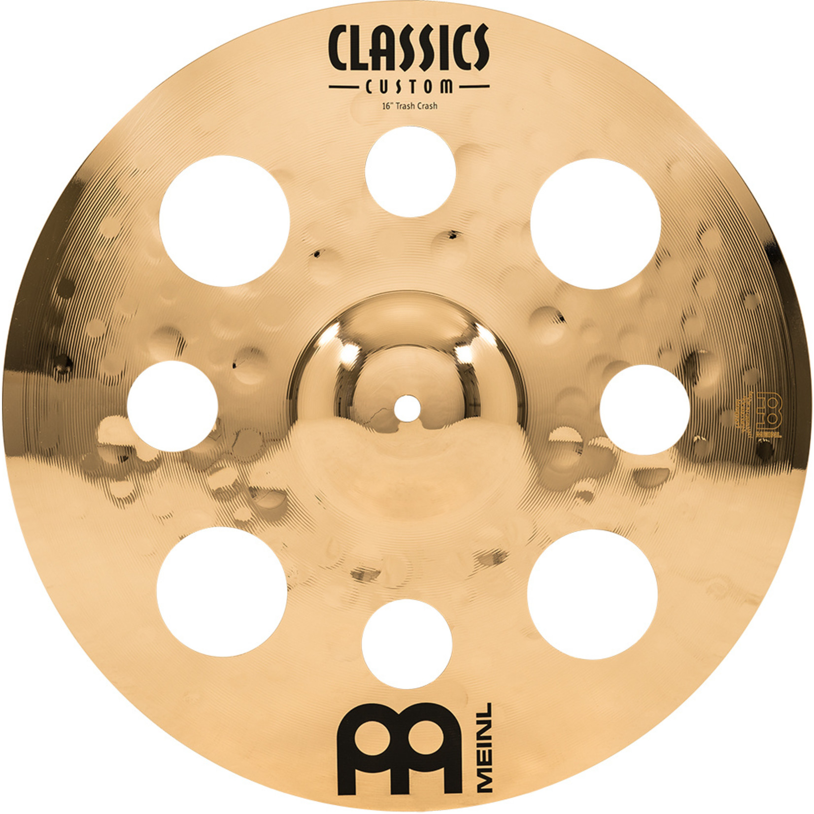 Meinl Meinl 16'' Classics Custom Brilliant Trash Crash