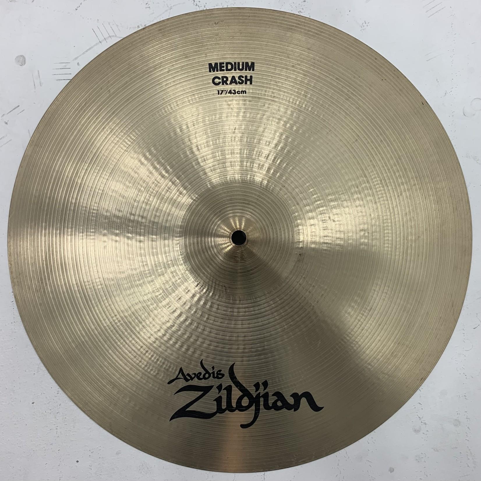 "USED Zildjian A 17"" Medium Crash Cymbal (Michael Wagener Collection)"