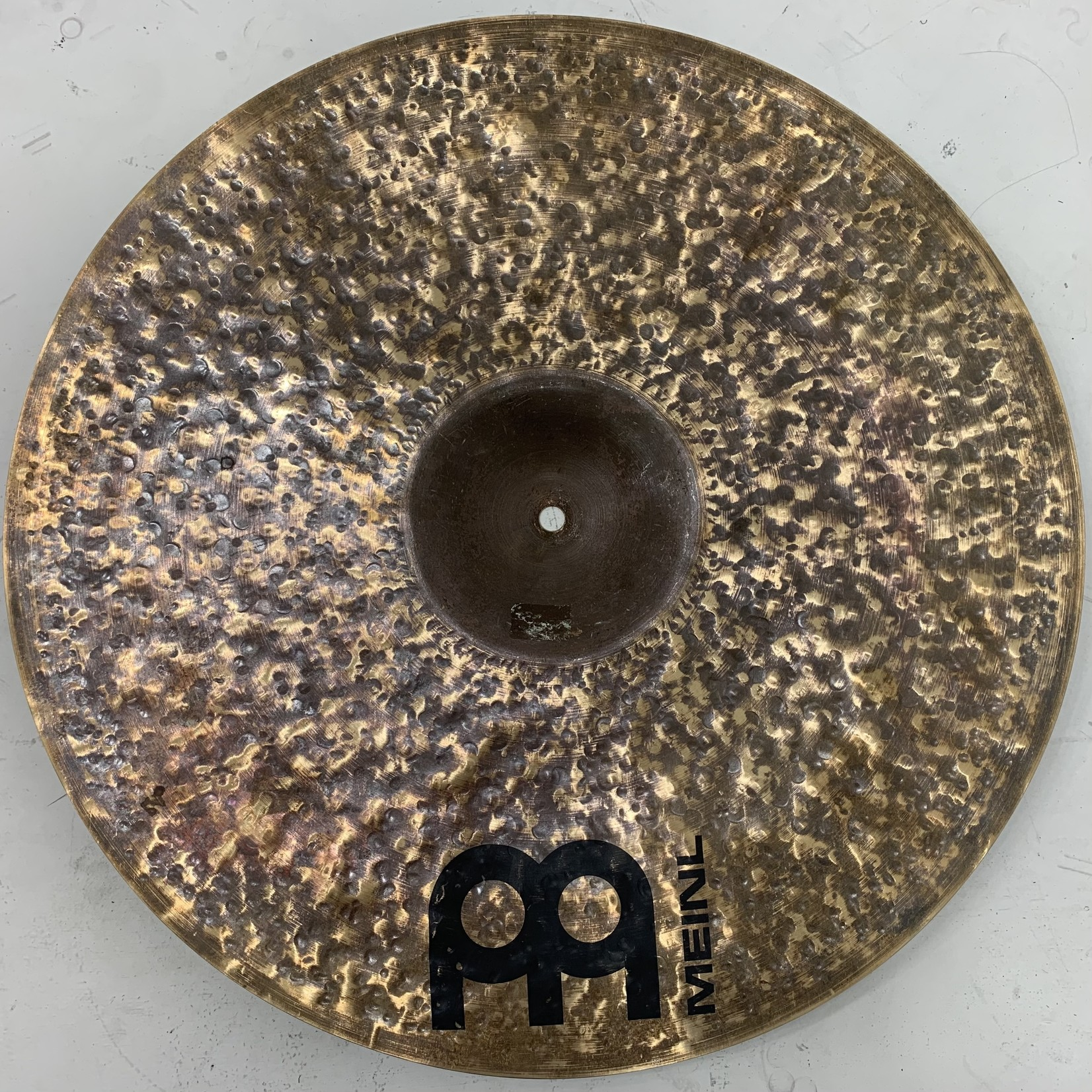 """Meinl USED Meinl Byzance 20"""" Raw Bell Ride Cymbal (Michael Wagener Collection)"""