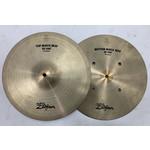 """Zildjian USED Zildjian A 14"""" Quick Beat Hi-Hat Cymbals (Michael Wagener Collection)"""