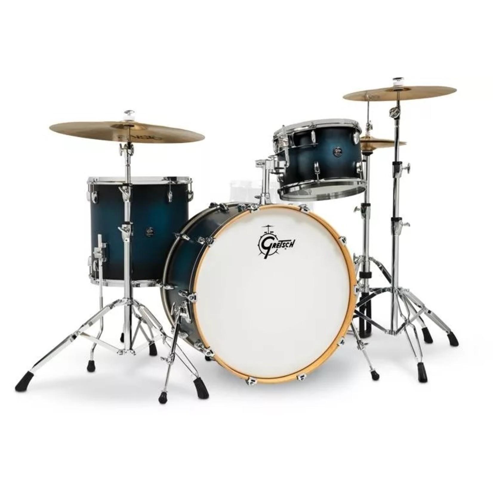 """Gretsch Gretsch Renown Maple 3pc """"Satin Antique Blue Burst"""""""