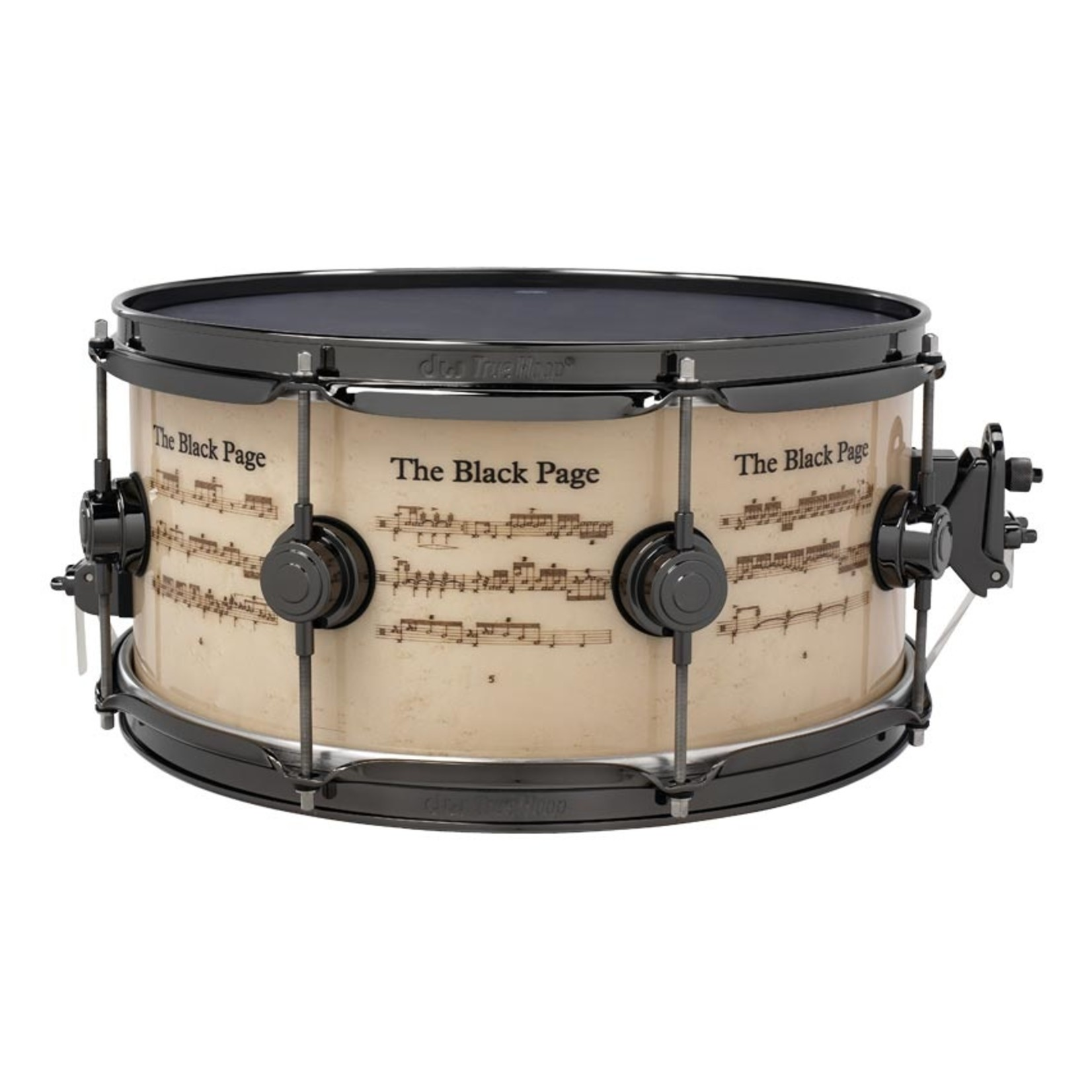 """DW DW 6.5x14 Icon """"Terry Bozzio"""" Snare Drum"""